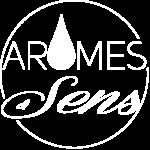 Logo Arome Et Sens Blanc